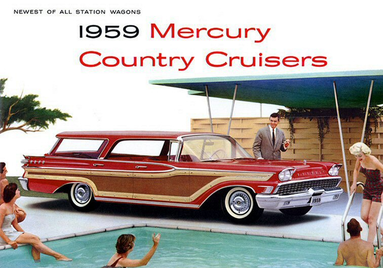 U 2 1959 Cars Chrome and Fins