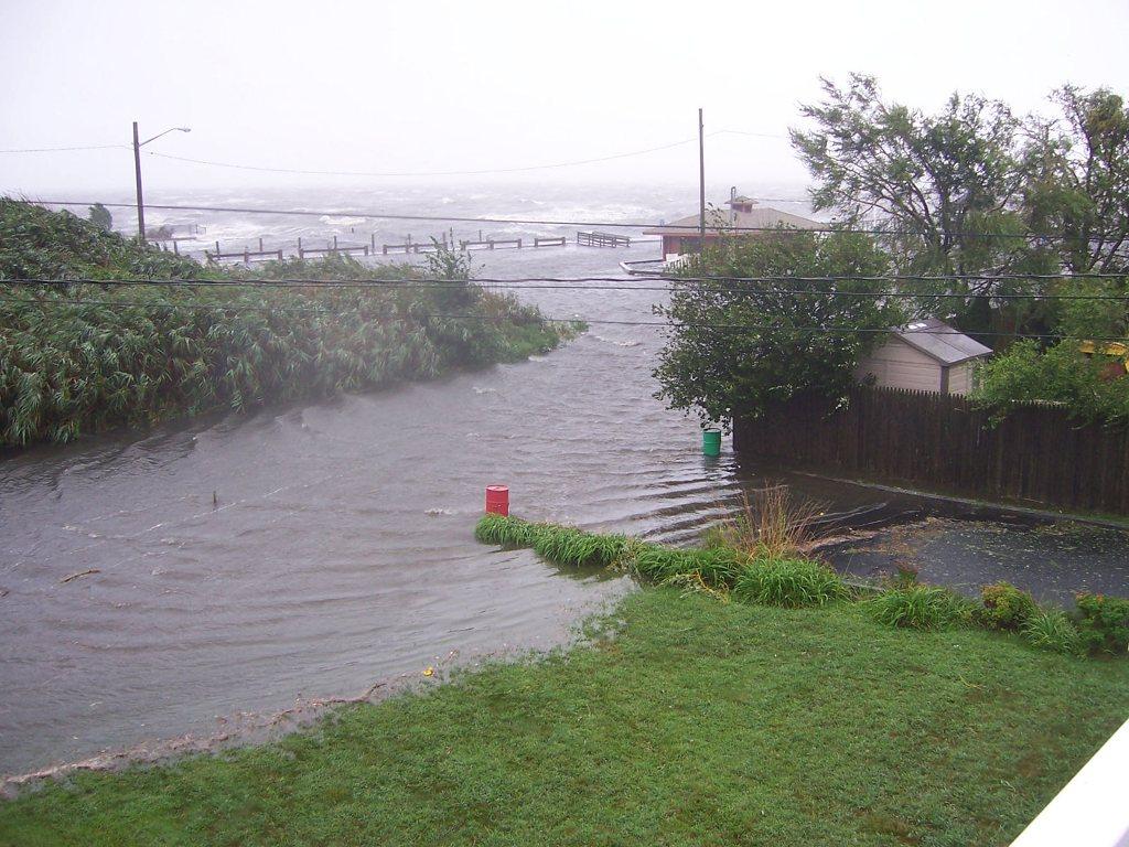 hurricane irene index